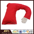 Boyfriend Pillow Red Shirt The Original Arm Snuggle Companion Pillow