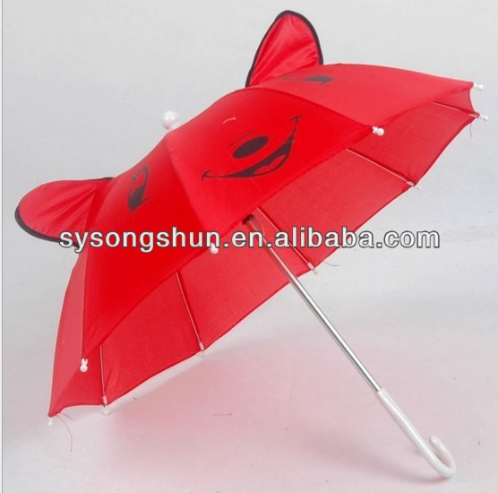 Promotionkids/Children EAR Animal shape kids umbrella