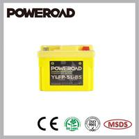 POWEROAD LiFePO4 Lithium battery for motorcycle YLFP-5L-BS