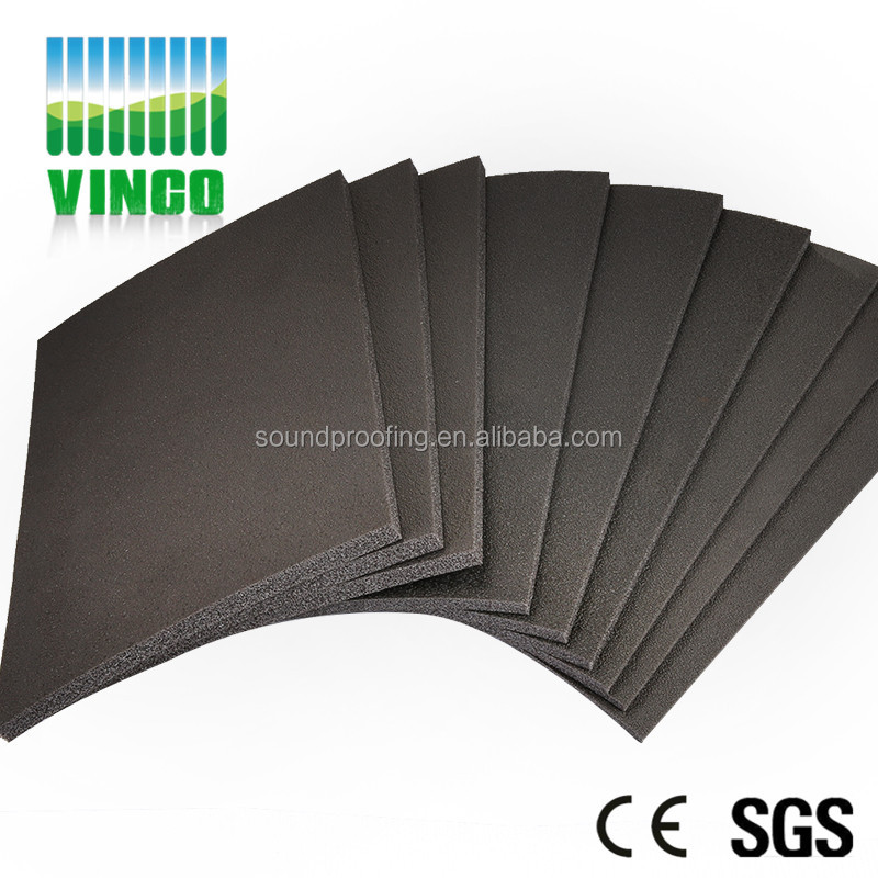 sound insulation and shock vibration mat for floor slab