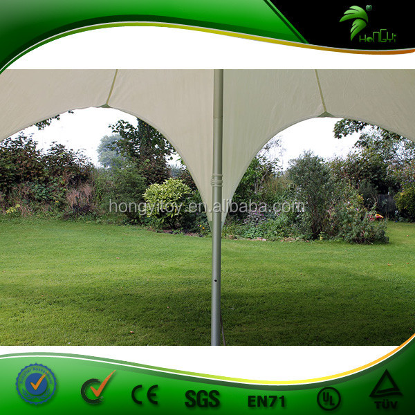Custom Logo Printing Star Tent UV Proof Single Layer Outdoor Advertising Star Shade Canopy Tent