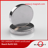 Industrial Magnet Application disc N52 ndfeb magnet by TS 16949 for phone cases and bags