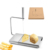 stainless steel cheese slicer cheese board cutter