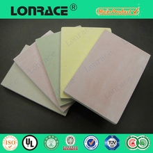 vinyl faced gypsum plaster board