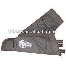 Outdoors black hunting rifle gun bag,gun case,arrow holder