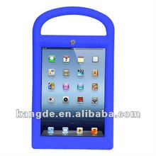 custom silicone tablet PC rugged tablet case for ipad mini 2 case with handle for kids children kid proof