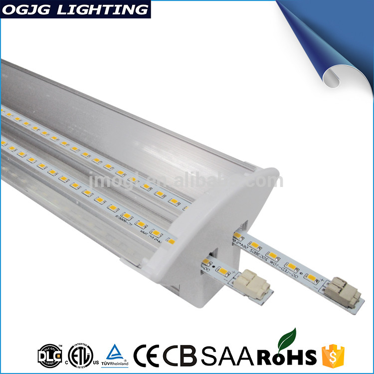 High Quality 5 Years Warranty 1200Mm Custom Ceiling Lighting Fixture Workshop Pendant Led Linear Light