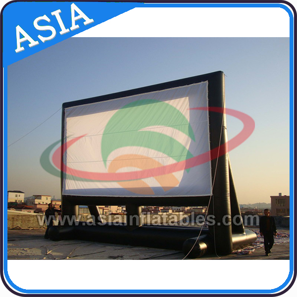 Outdoor Movie Screen Portable Inflatable Theater Projection Projector Widescreen