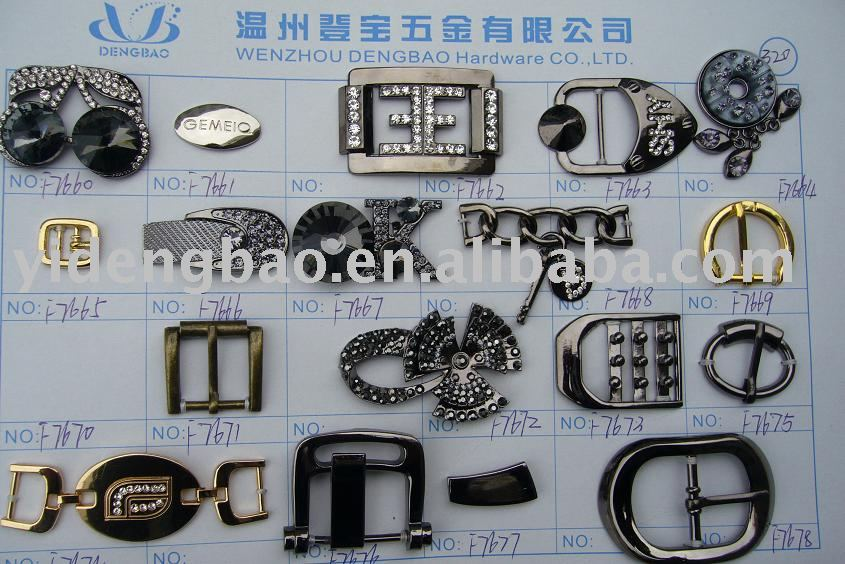 Fashion shoe buckles,accessories
