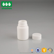 bottle type plastic hdpe with screw lid medical container 10ml small