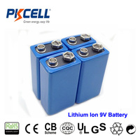 High Power 9V Lithium Ion Rechargeable Battery For Electronic Meter