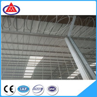 high security prison system 358 welded wire mesh anti climb fencing