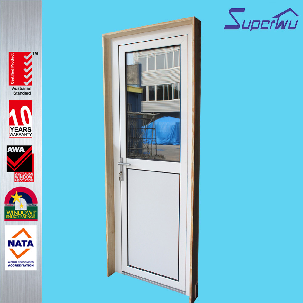 AS2047 standard glass double sealing aluminum frames hinge door china