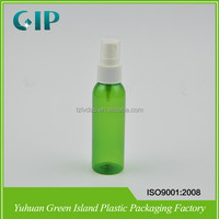 60ml spray clear pet plastic bottle cosmetic for sale