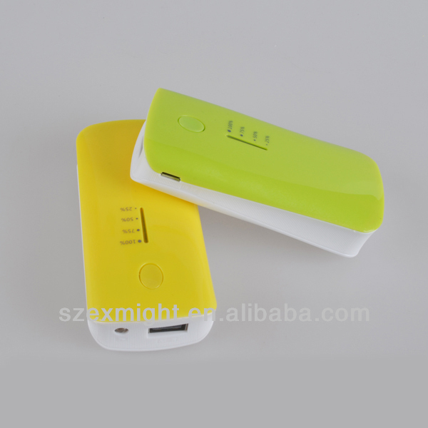 Low Price Moblile Power Bank 5000mah for Samsung galaxy note iPhone 5s