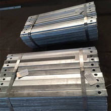Drywall Gypsum Board Metal U Shaped structural Galvanized Steel Profile