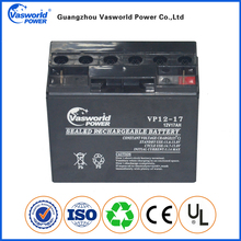 Cheap Price AGM Battery 12v 17ah Sealed Lead Acid Battery storage UPS solar gel deep cycle battery