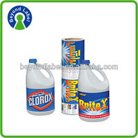 Dongguan boyue cheap made especially for you sticker cmyk printing labels for detergent