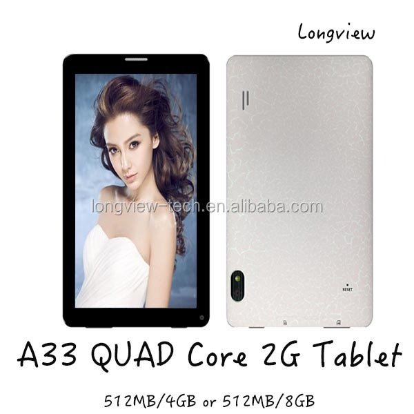 Original Phone Call Tablets 7 Inch Quad Core Android 4.4 Wifi Camera Bluetooth 2G Tablet 7""