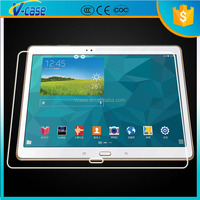 Extreme clear anti shock explosion proof mirror tempered glass screen protector for samsung tablet