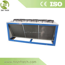 copper tube,Aluminum fin condenser of refrigeration for cold room