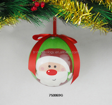 2017 Stock Fashionable plastic Bubble Glass Christmas Ball Christmas Tree Ball Decorations