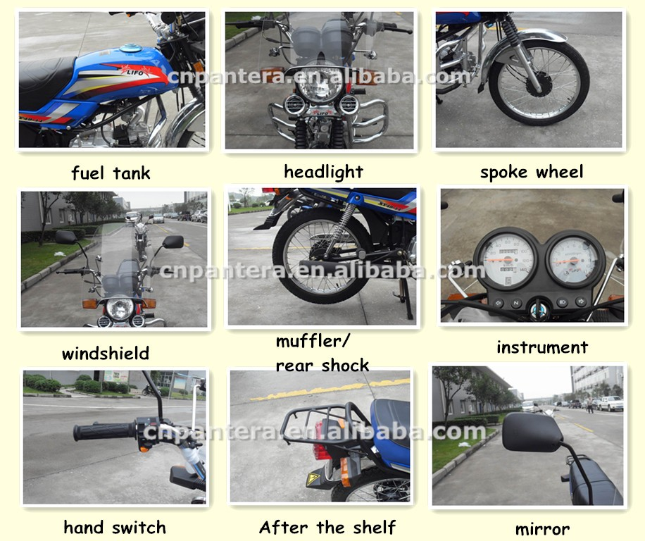 China Best Shock Absorber Single Cylinder 70cc 100cc Street Motorcycle