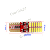 3014 RED Board SMD car led light,interior led,auto lamp