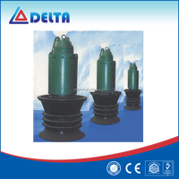 Sewage vertical submersible diffuser centrifugal pump