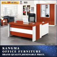 high quality hardwares promotion office executive table pictures