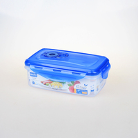 BPA Free Clip Lock Plastic Food Containers Lock Manufacture