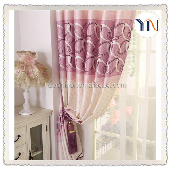 flame retardant curtain blackout fabric