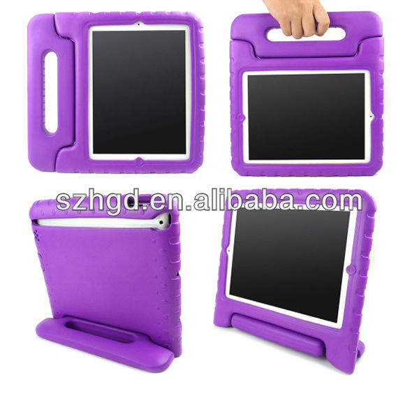 Kids Eva Foam Shockproof Stand Handle style for apple ipad mini cover case