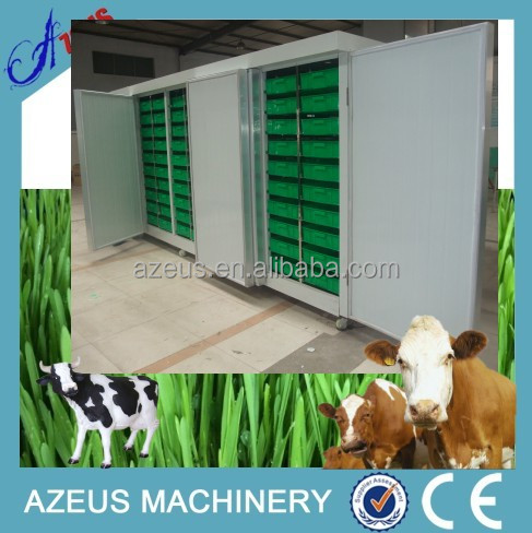 2016 popular in Kenya and Jordan hydroponic fodder machine for poultry