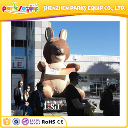 Giant bear 2015 ces trade fair prmotional inflatables