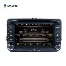 Pure android 7.1 touch screen car with Bluetooth radio usb for VW Golf polo passat car radio