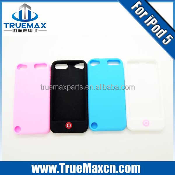 Colorful Skin Case For Ipod Touch 5 Silicone Cover
