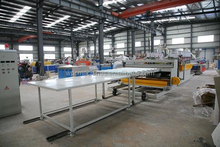 Wood Plastic Building Plate Extrusion Production Line with Light Weight Smooth Surface