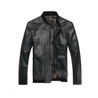 Fashion Clothes Slim Fit Men Leather
