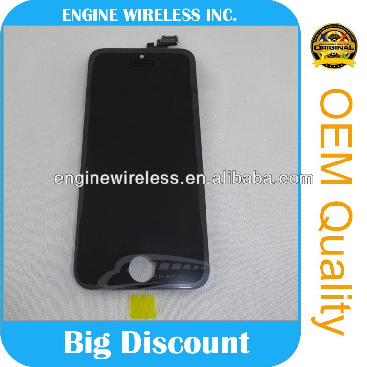 spare parts mobile phone lcd screen assembly for apple iphone 5
