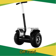 Factory custom off road model 2 wheel electric balacing scooter, personal transporter scooter kids