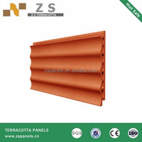 China decorative building terracotta cladding wall tile, readi made wall