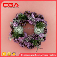 14 inch new fashion Christmas Wreath wholesale