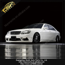Hot sale! FRP material WD style body kit /auto parts for S class w220