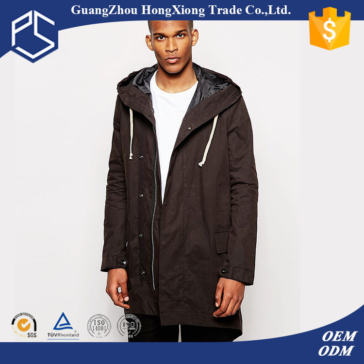 Men Custom Plain Zipper Quality Cotton Hoody Men Sample Winter Jacket