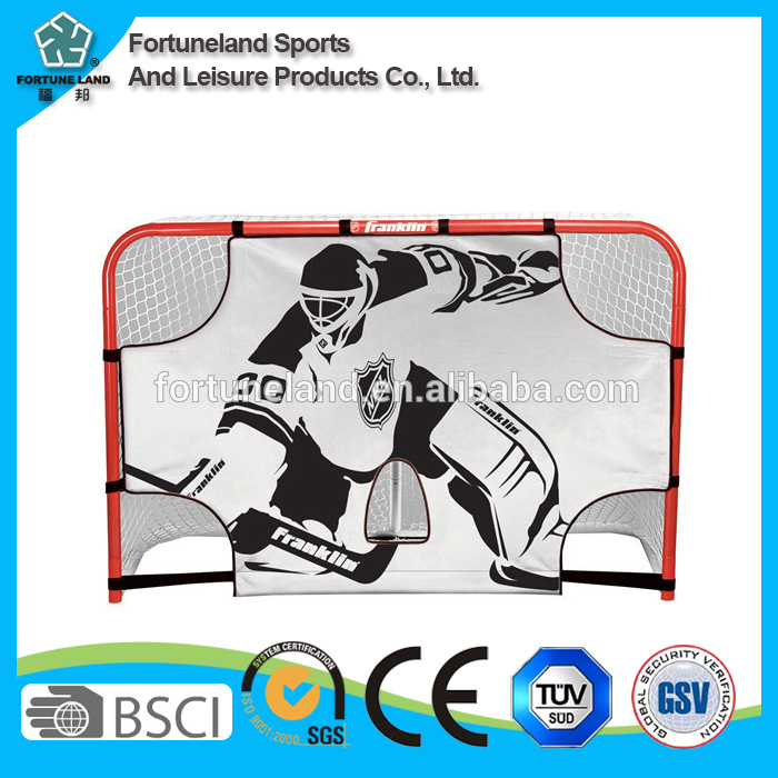 Training hockey goals frames with net