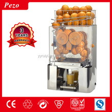 PEZO stainless steel automatic industrial navel orange Juicer machine