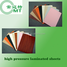 Glossy Formica High Pressure Laminate/HPL sheet/compact board