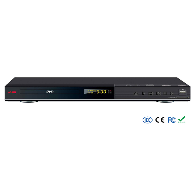 Home use AC 5.1ch 2ch USB SD KARAOKE recorder CD-G CD RIPPING AC-3 DVD player
