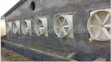 Factory roof ventilation and exhaust equipment